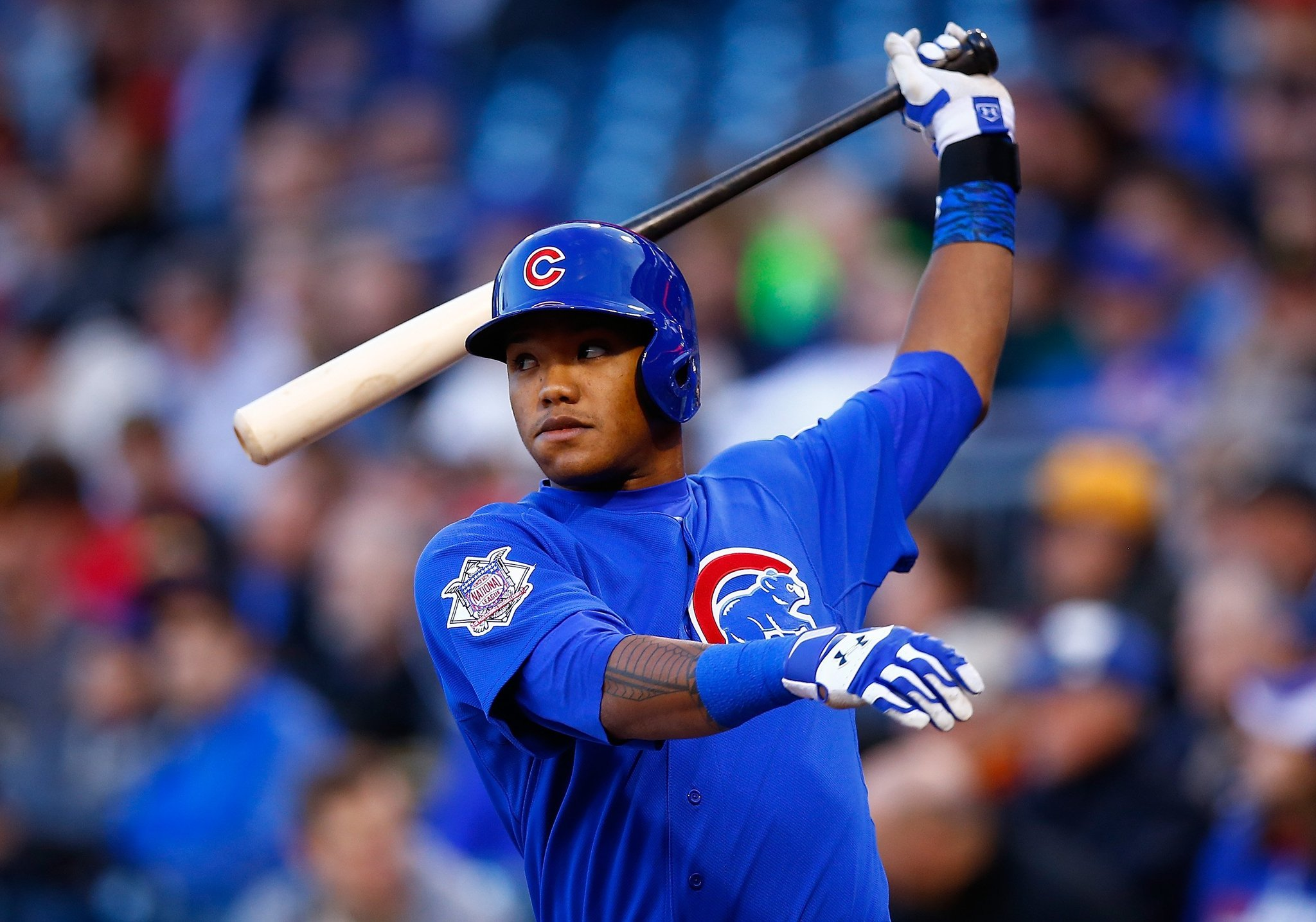 Addison Wayne Russell born January 23 1994 is an American professional baseball infielder for the Chicago Cubs of Major League Baseball MLB In 2015 Baseball